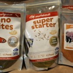 Feeding small fish- Your Fish Stuff products, an important part of my arsenal
